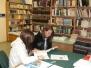Gólyák a könyvtárban